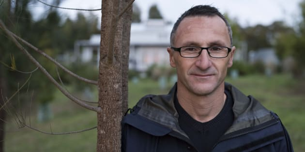 Richard Di Natale, at his family farm