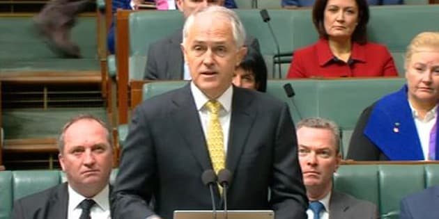 PM Malcolm Turnbull announces the expansion of attacks against ISIS.