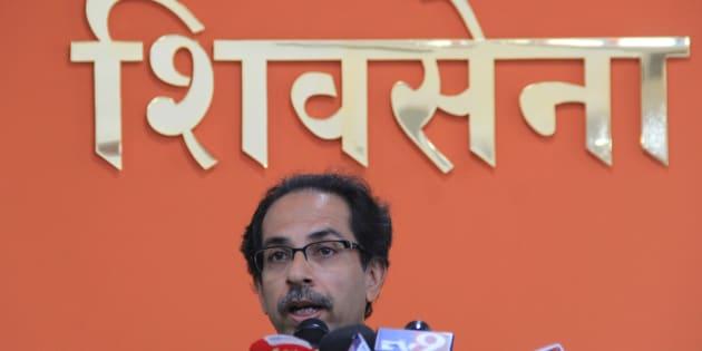 File photo of Shiv Sena Party Chief Uddhav Thackeray.