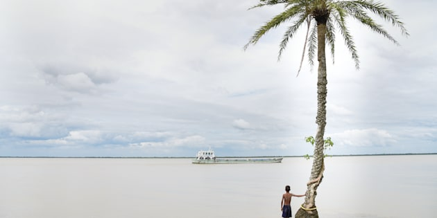 Ghoramara island, 150 km south of Kolkata, has lost 50 percent of its terrain to the rising seas as a result of climate change.