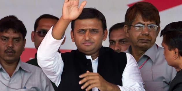 Akhilesh Yadav.