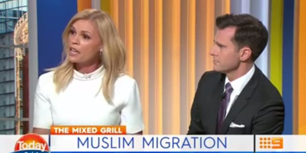 Sonia Kruger and David Campbell on Today