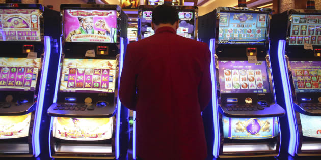 Poker machines are a big problem in Australia.