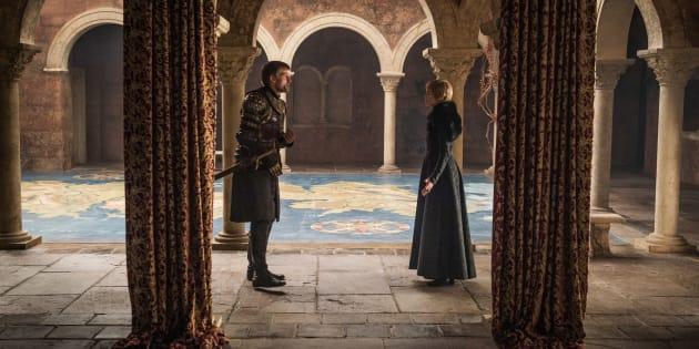 Debate entre Cersei e Jaime: é na resenha que Game of Thrones desenvolve todo o seu potencial dramático