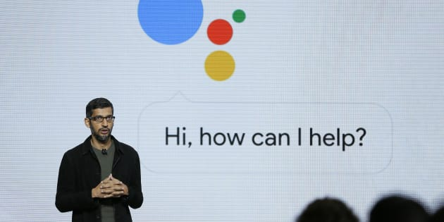 Google CEO Sundar Pichai talks about the new Google Assistant