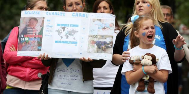 Charlie Gard, le nourrisson atteint d'une maladie rare, est décédé