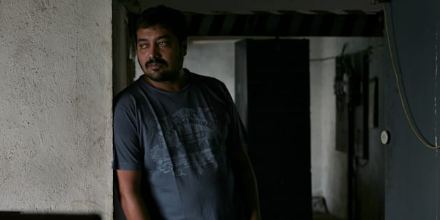 Indian film director, screenwriter, producer and actor Anurag Kashyap in 2009. (Photo by Soumitra Ghosh/Hindustan Times via Getty Images)