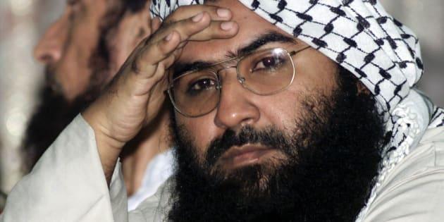 File photo of Maulana Masood Azhar, head of Pakistan's militant Jaish-e-Mohammad party.