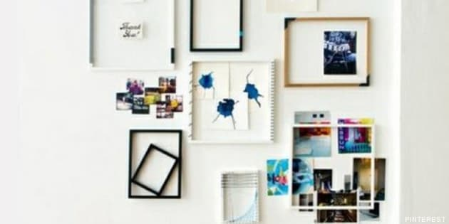 decorar con cuadros 33 ideas para enmarcar fotos