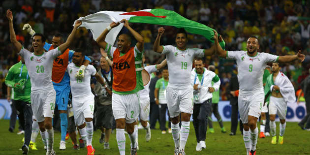 Vid os le r sum et les buts d 39 alg rie russie 1 1 la - Algerie allemagne coupe du monde 2014 ...