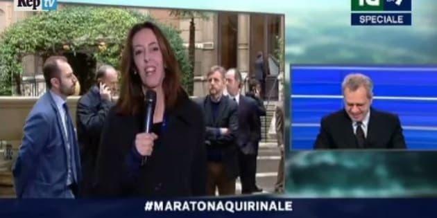 La7 alessandra sardoni per ore in diretta tv da for Diretta da montecitorio