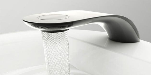 photos economie d 39 eau swirl le robinet qui fait couler l 39 eau en spirale. Black Bedroom Furniture Sets. Home Design Ideas