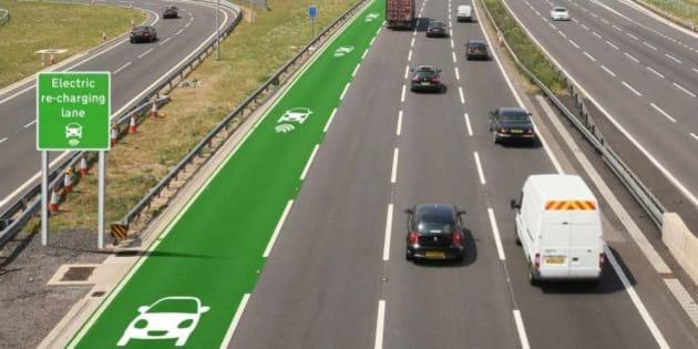 le royaume uni va tester des routes chargeant les voitures lectriques. Black Bedroom Furniture Sets. Home Design Ideas
