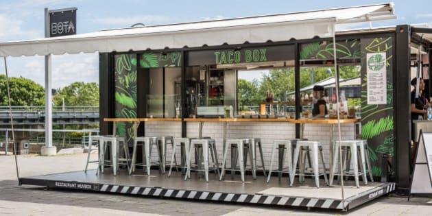 Tacobox un nouveau restaurant mobile au vieux port de montr al huffpost qu bec - Restaurant vieux port de quebec ...