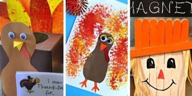 Thanksgiving crafts 11 fun and easy activities to help for Arts and crafts for 2 year olds