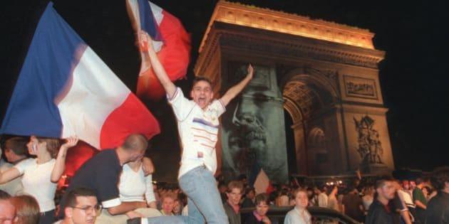 Avant l 39 euro 2016 il y a eu france 98 et a ressemblait a - Coupe du monde foot 1998 ...