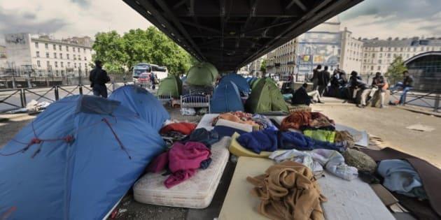 Le camp humanitaire pour migrants paris sera install pr s de la porte de la chapelle - Cinema porte de la chapelle ...