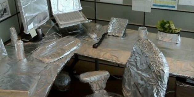 blagues au bureau quand des coll gues red corent votre. Black Bedroom Furniture Sets. Home Design Ideas