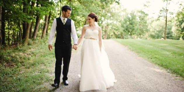 Real Wedding: Ridiculously Cute Handmade Ontario Wedding