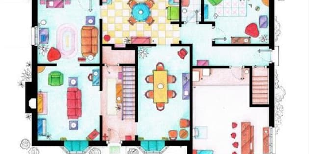 plan maison simpson