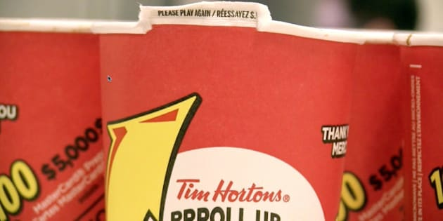 Tim Hortons Roll Up The Rim  Car Lease