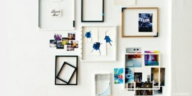 Decorar con cuadros 33 ideas para enmarcar fotos for Decoracion de hogar barata