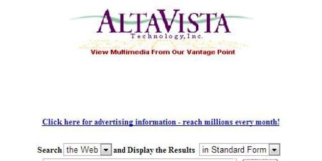 altavista moteur de recherche gratuit
