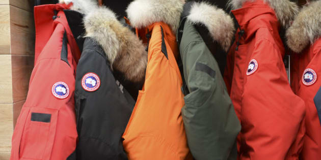canada goose homme orange