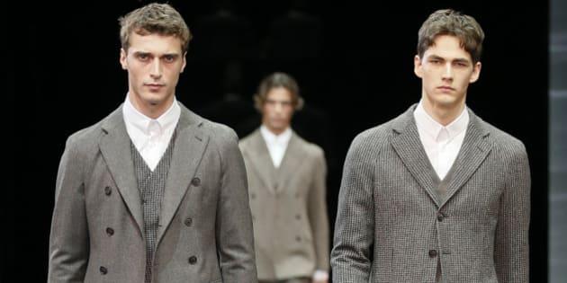 2015Armani Milano Inverno Giacche Presenta Uomo Moda 2014 Le SMpUGqzV