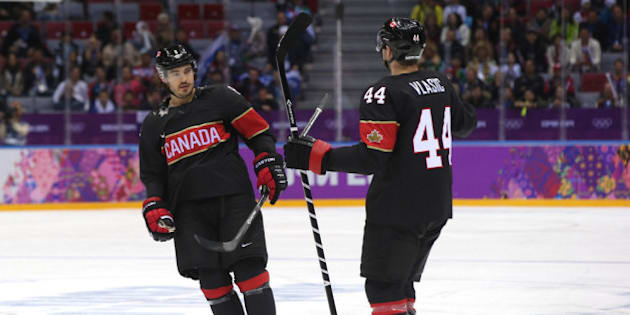 black team canada hockey jersey