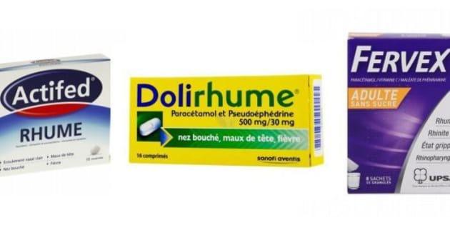 medicament pour rhume