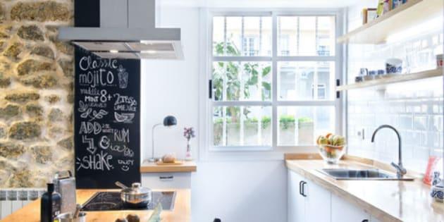 I 7 segreti della parete lavagna in cucina - Lavagna fogli mobili ikea ...