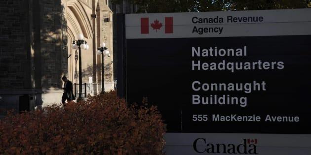 The Canada Revenue Agency headquarters in Ottawa on Nov. 4, 2011.