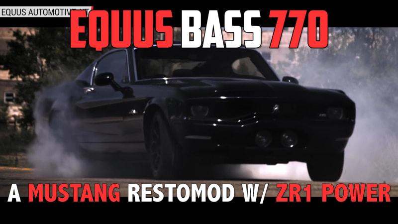equus bass 770 autoblog minute autoblog. Black Bedroom Furniture Sets. Home Design Ideas