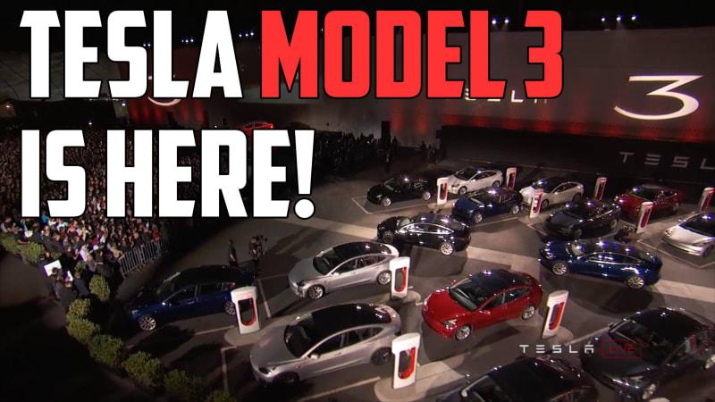 Tesla Model 3 is Here | Autoblog Minute