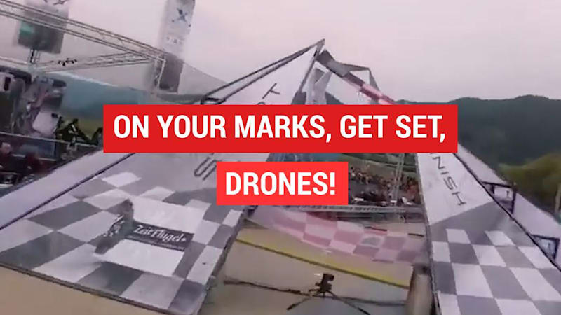Thumbnail - Drone racing Red Bull style