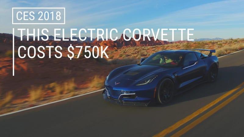 photo image Genovation debuts the world's fastest Chevy Corvette