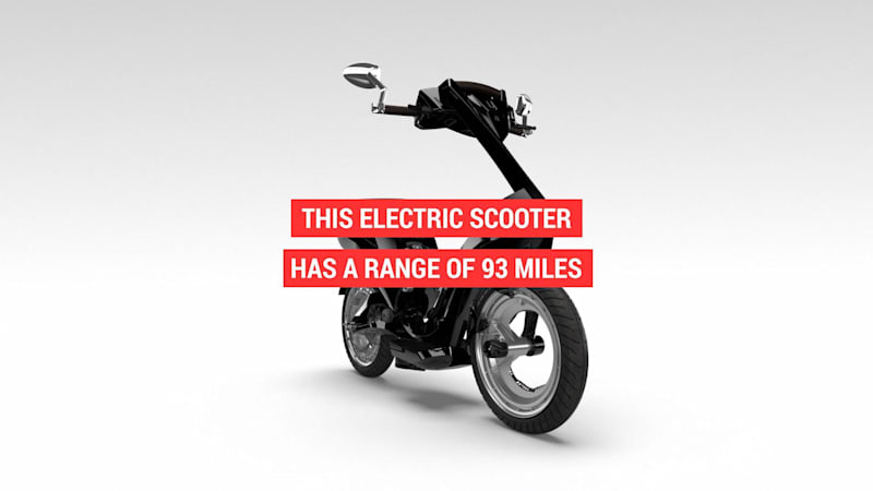 photo image The Ujet electric scooter goes 93 miles on a single charge