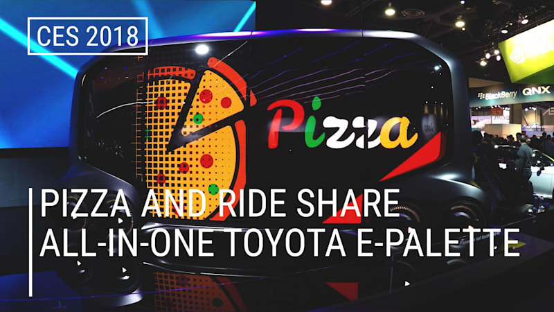photo image Toyota's e-Palette Will Deliver Your Pizza in the Future