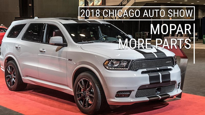 Make Your Dodge Durango Even Better | MoPar Options for R/T, SRT | 2018  Chicago Auto Show