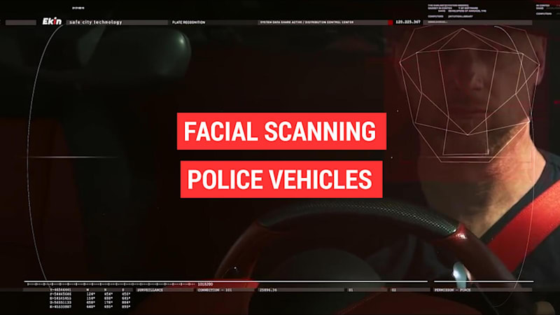 Facial recognition system is coming for police cars