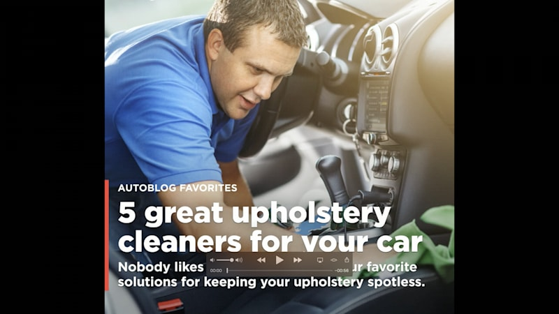 5 great upholstery cleaners for your car