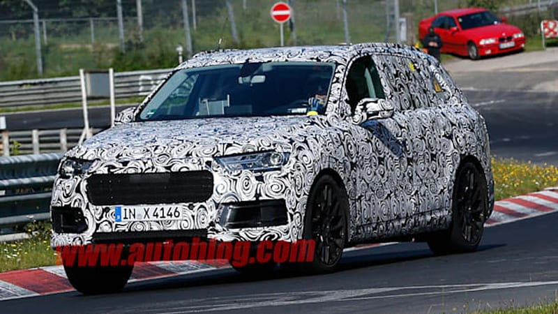 Next Gen Audi Q7 To Debut In Detroit Autoblog