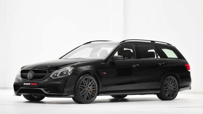 mercedes e63 amg wagon gets 838 hp thanks to brabus autoblog. Black Bedroom Furniture Sets. Home Design Ideas
