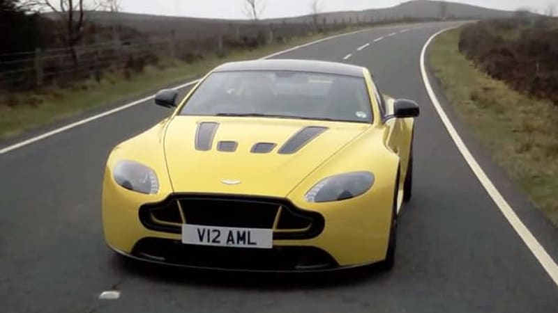 2015 Aston Martin V12 Vantage S drives angry with XCAR