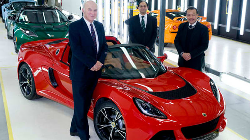 Lotus To Receive 16m Government Grant