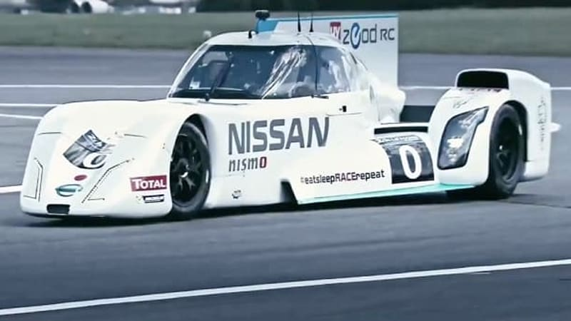 Nissan Zeod Rc On Track And From Behind The Wheel Autoblog