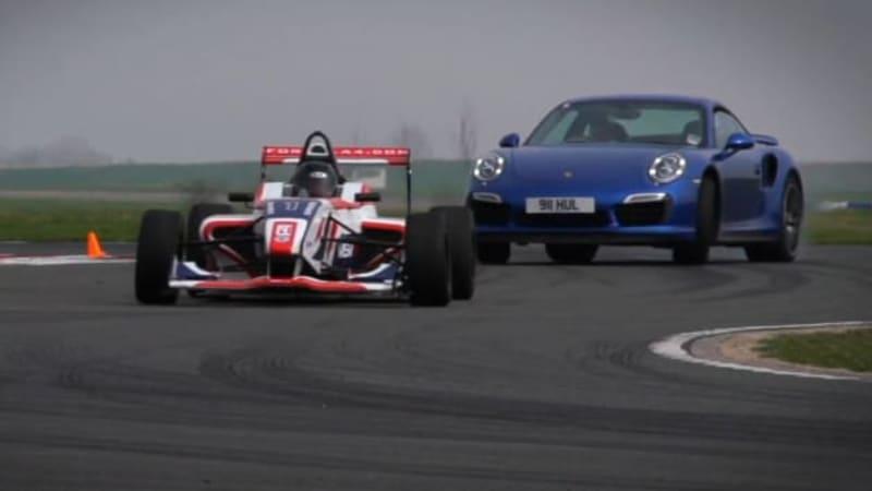 Autocar pits Porsche 911 Turbo S against Formula 4 racer