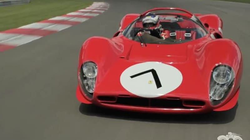 Ferrari 330 P4 is a stunning red bolide