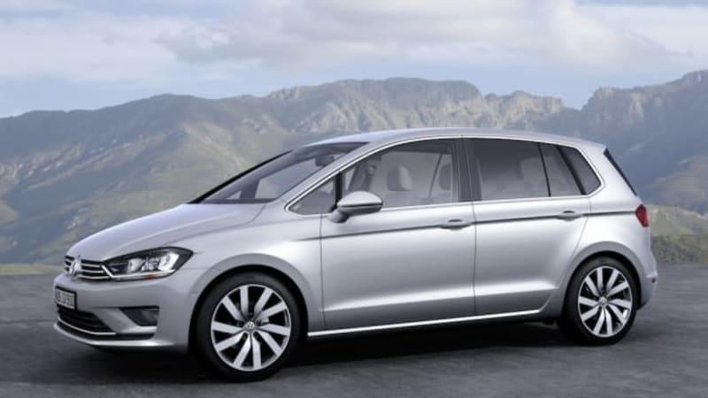 vw golf sportsvan succeeds golf plus in frankfurt autoblog. Black Bedroom Furniture Sets. Home Design Ideas